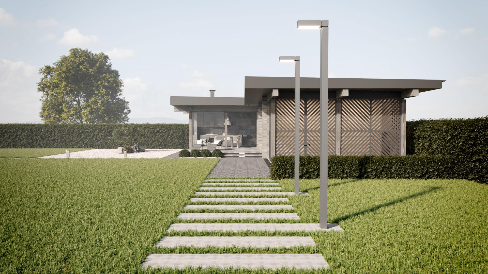 Архитектурный проект бани из бруса