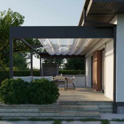 Архитектурный проект одноэтажного дома в д. Знаменка